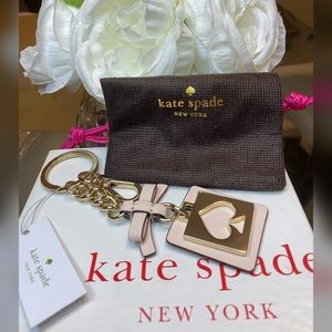 ▪️Kate Spade♠️ New York Cut Out Spade Keychain▪️